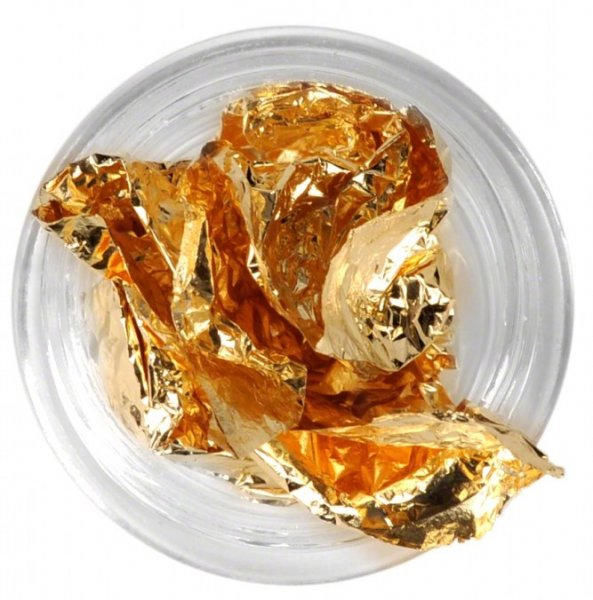 Papel prata inteiro - dourado