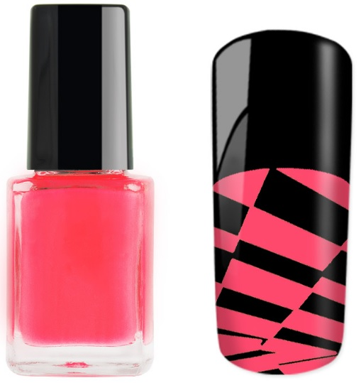 Tinta para carimbo Neon Rosa