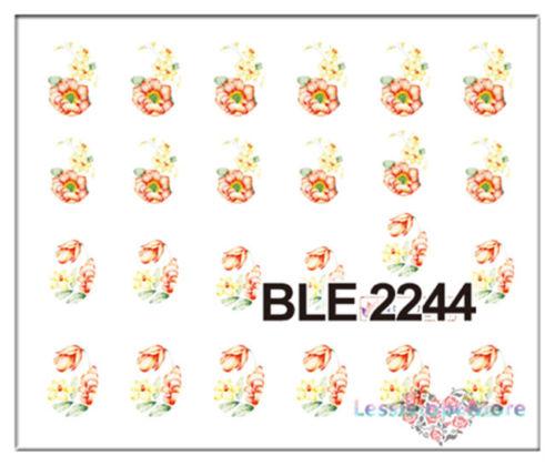 Decalque Flores Vintage 7