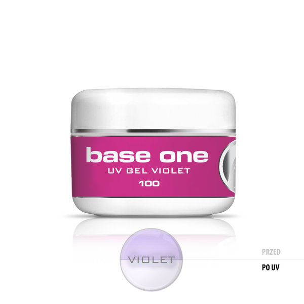 Gel Base One Violet 100gr