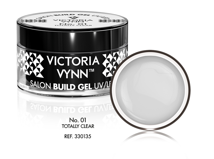 Gel de Construção Victoria Vynn n.º01 - Totally Clear