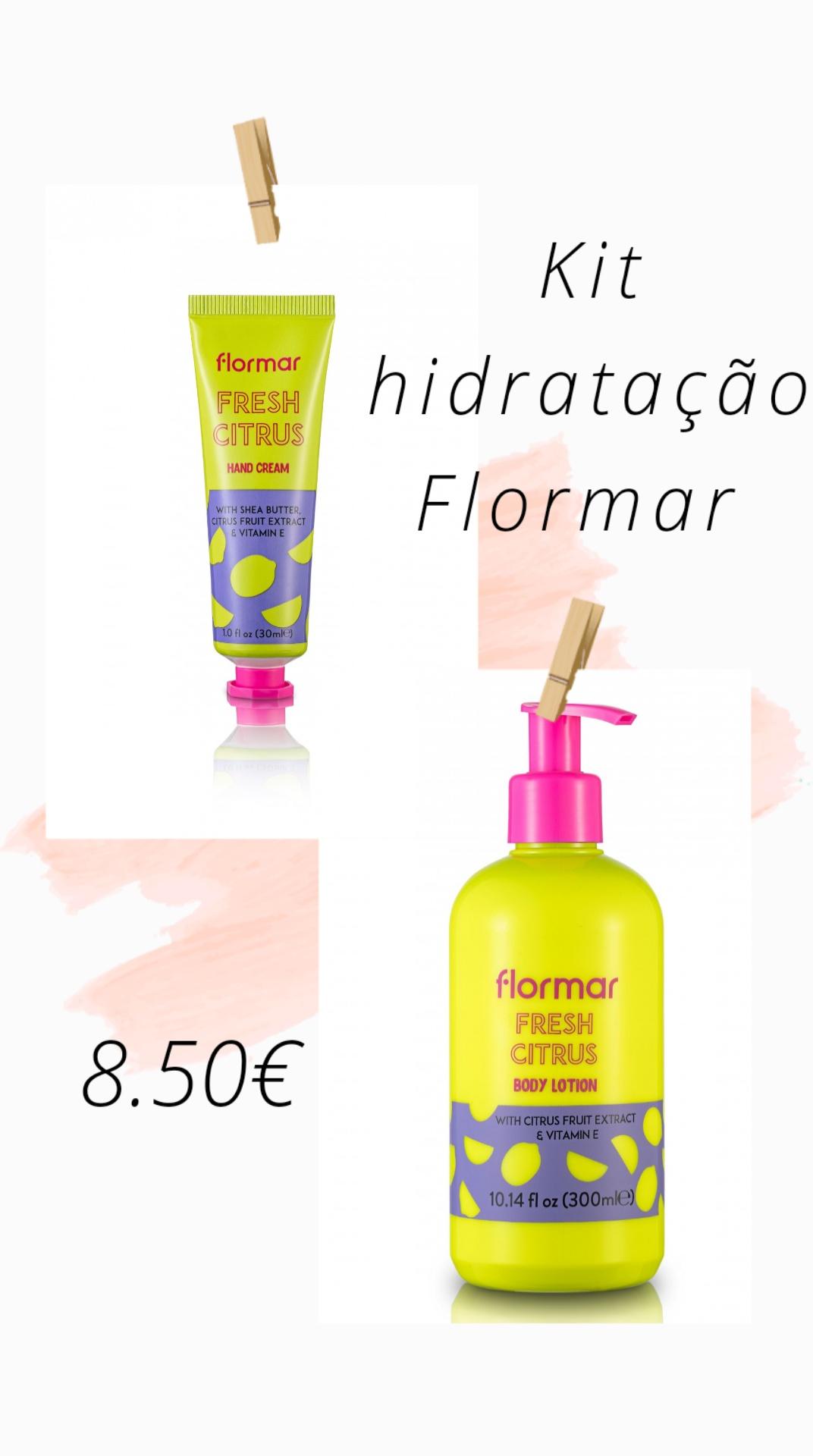 FLORMAR - Kit Hidratação - FRESH CITRUS