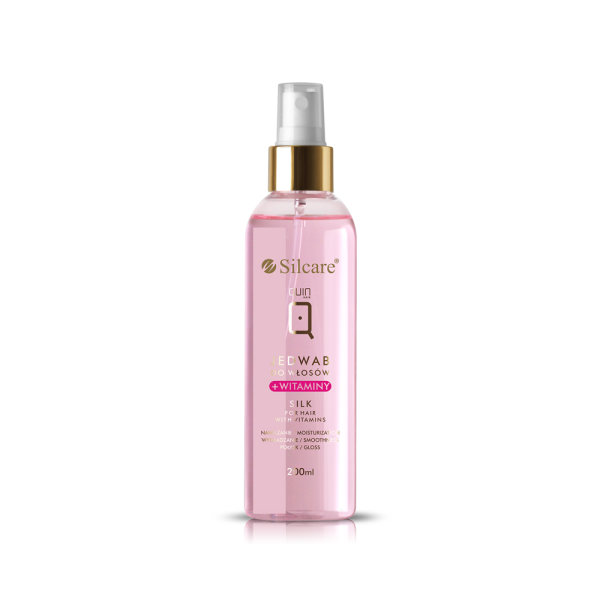 Silcare - QUIN Seda para o cabelo + vitaminas
