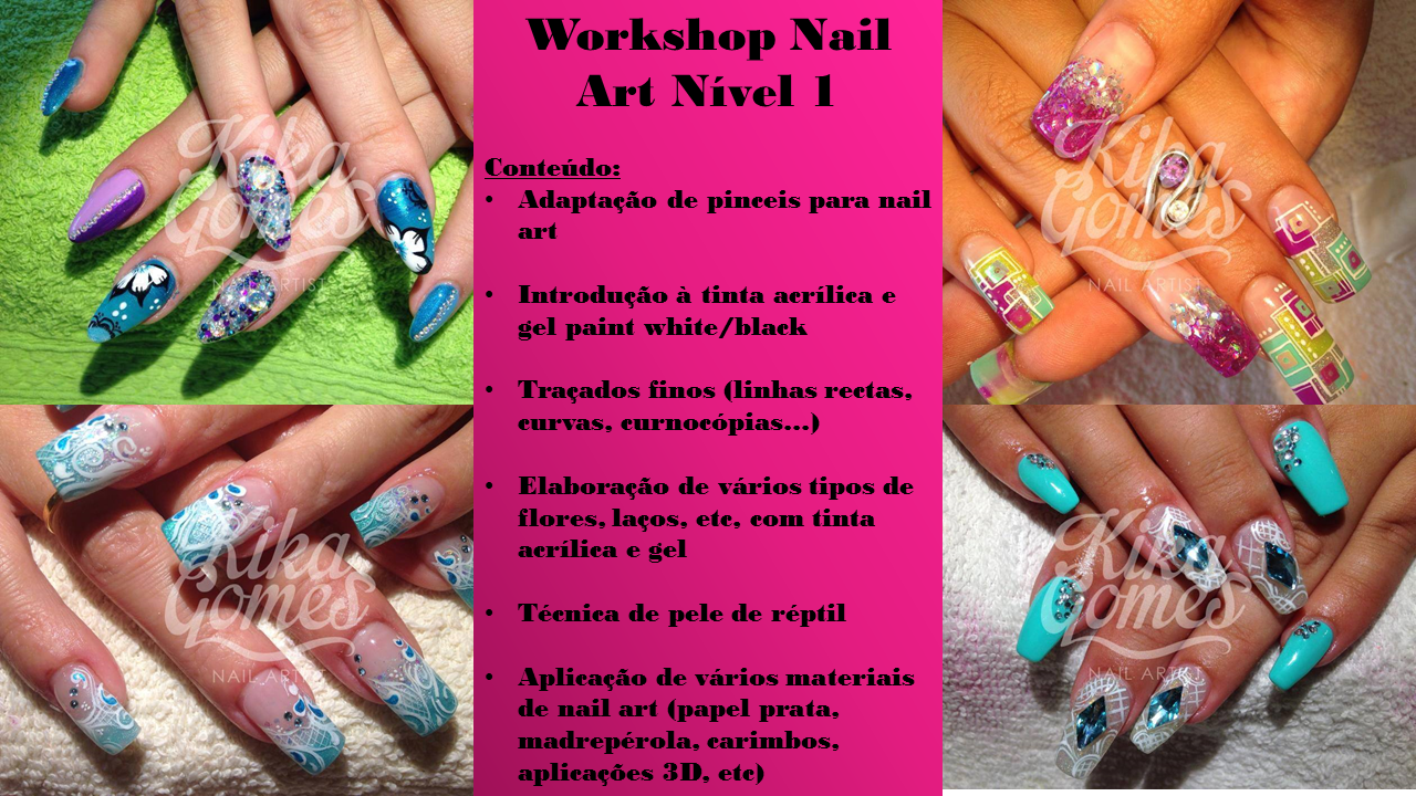 Workshop de Nail Art Nível I