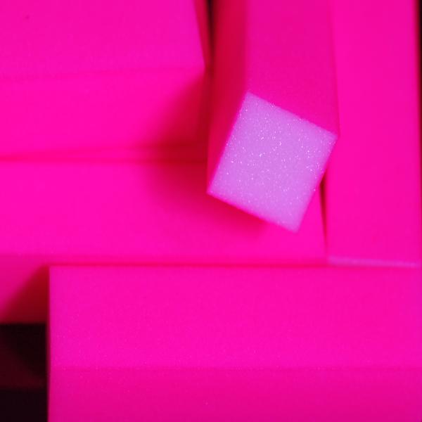 Bloco Rosa Neon