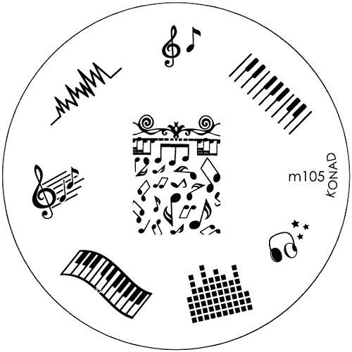Placa Konad M105