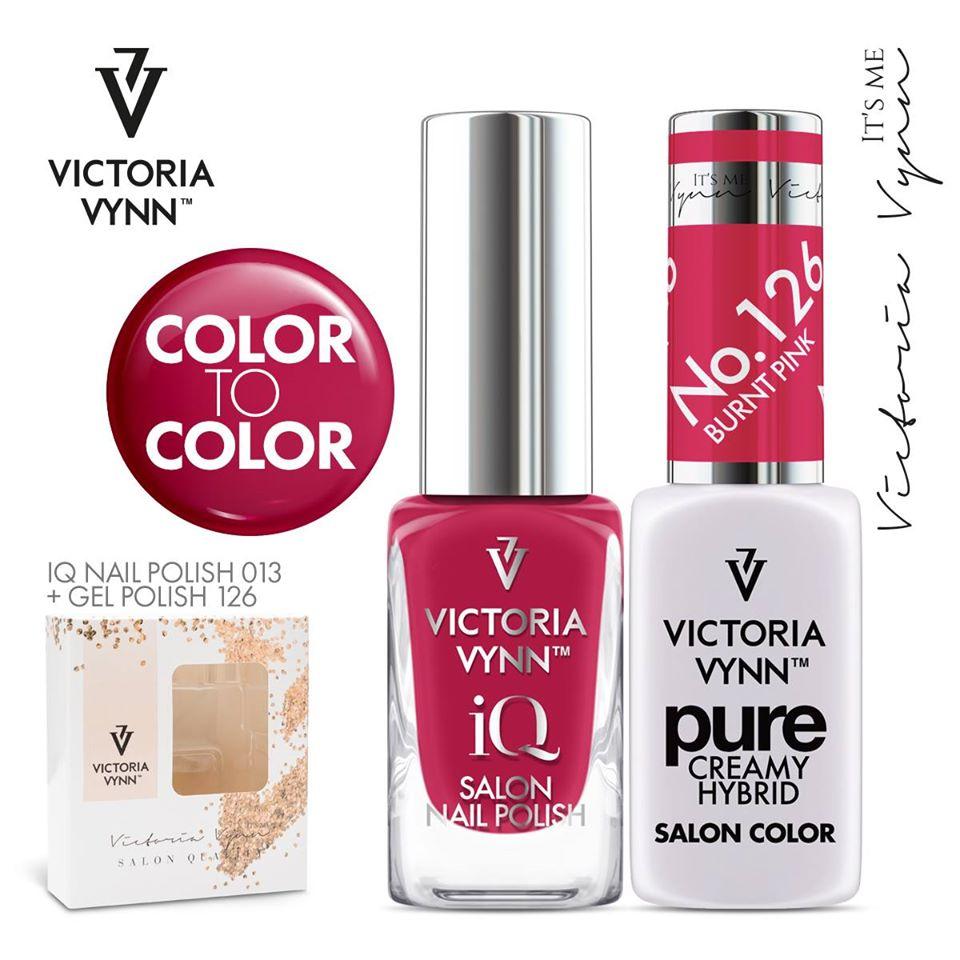 Conjunto Verniz iQ + Verniz Gel Victoria Vynn - 013