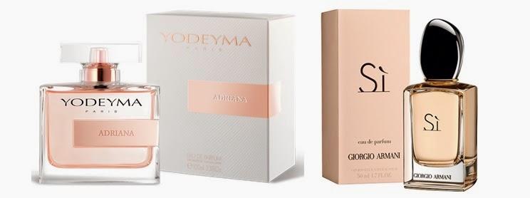 Perfume Adriana (equiv. SÍ - Giorgio Armani)