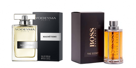 Perfume Magnétisme (equiv. The Scent for Him - Hugo Boss)
