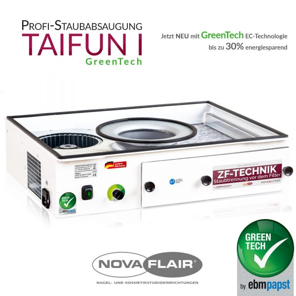 Aspirador de poeiras NovaFlair Taifun I Greentech