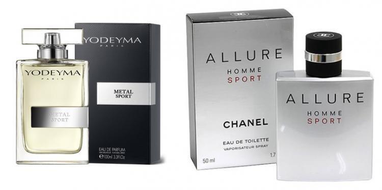 Perfume Metal Sport (equiv. Allure Homme Sport - Chanel)