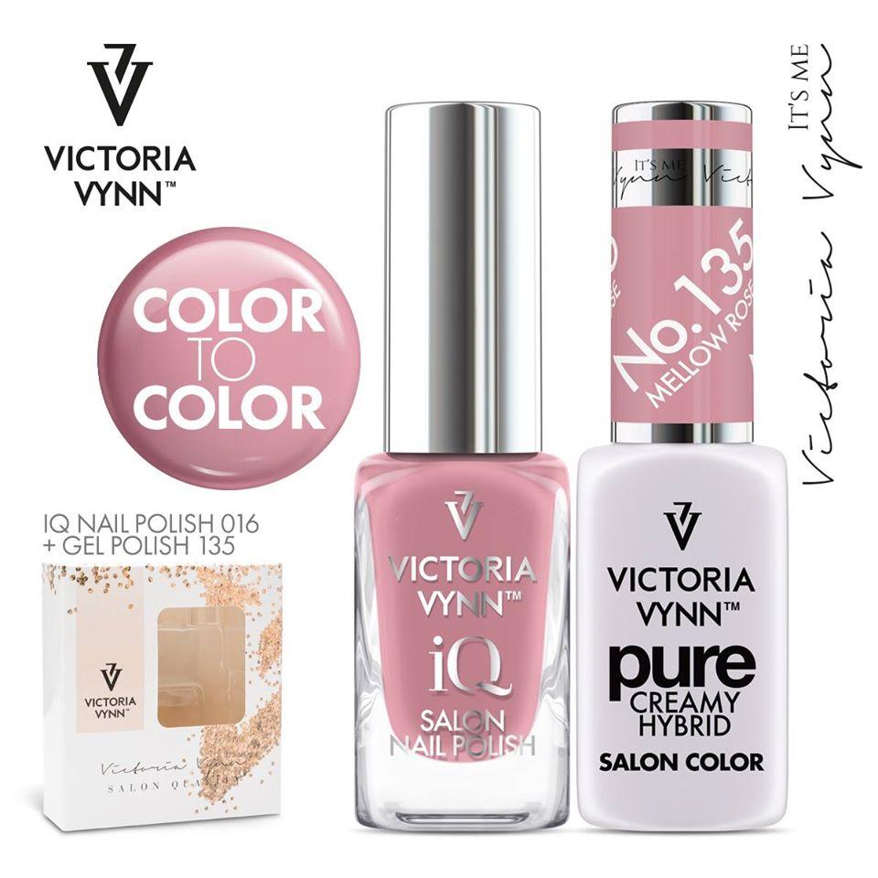 Conjunto Verniz iQ + Verniz Gel Victoria Vynn - 016