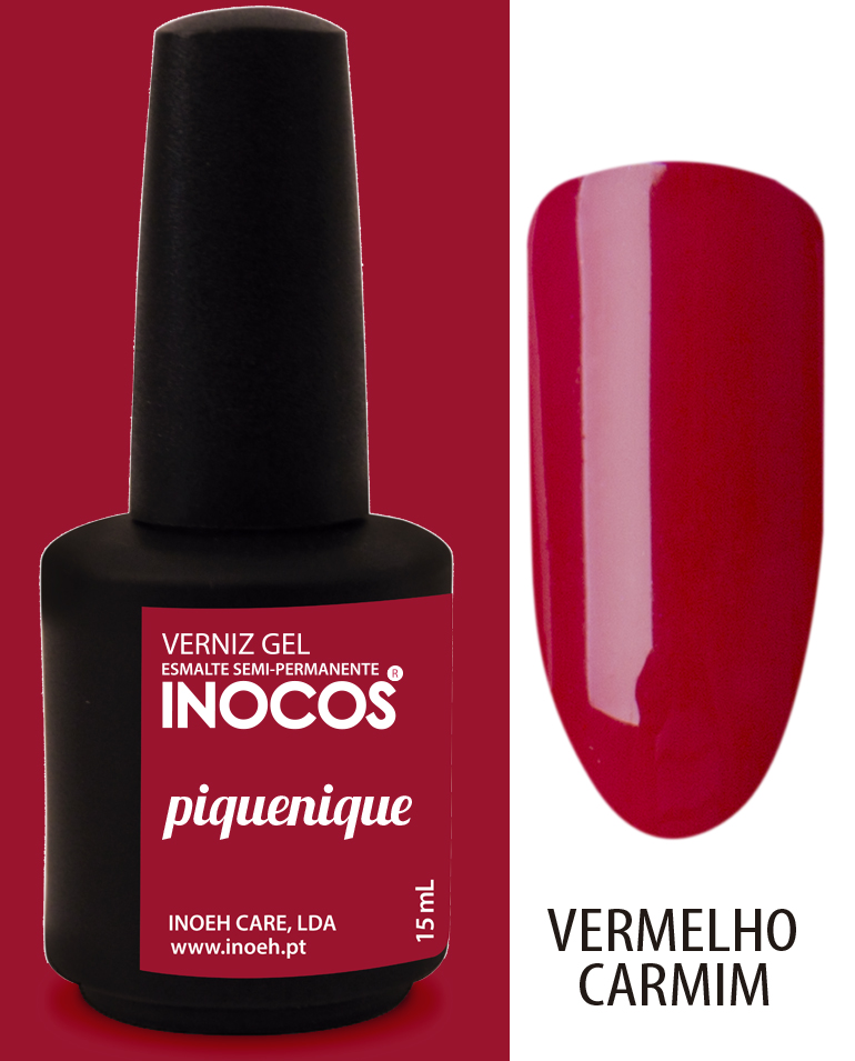 Verniz Gel Inocos - Piquenique