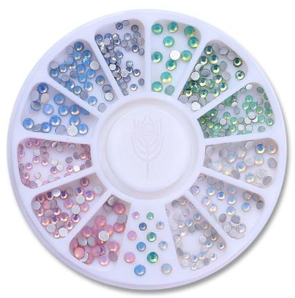 Roda Brilhantes - Cristais Opal