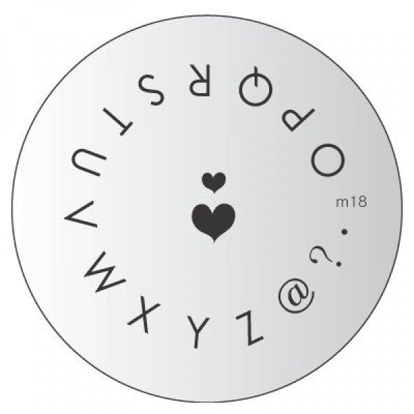 Placa Konad M018