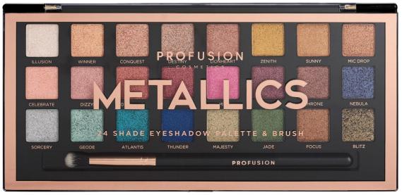 "PROFUSION - Artistry Palette ""Metallics"""