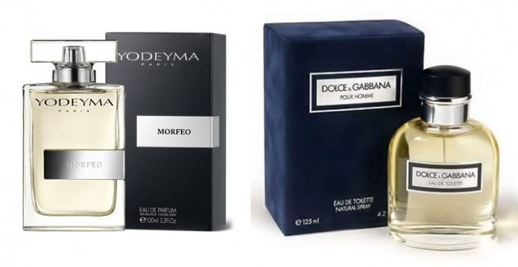 Perfume Morfeo (equiv. Dolce & Gabbana pour Homme)