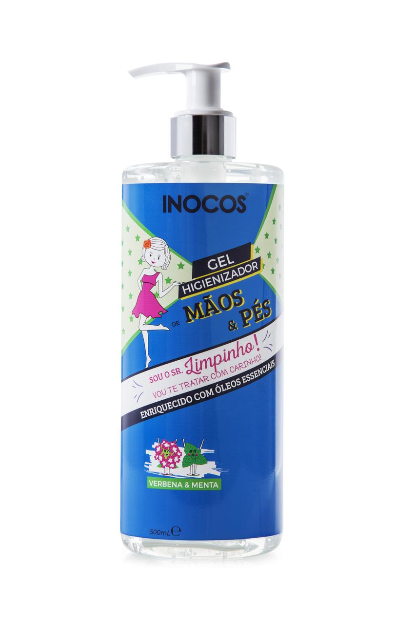 Gel Higienizador para Mãos e Pés Inocos