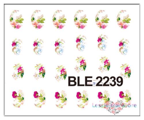 Decalque Flores Vintage 2