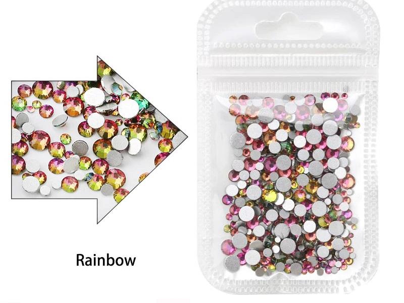 Cristais Rainbow - Mix tamanhos