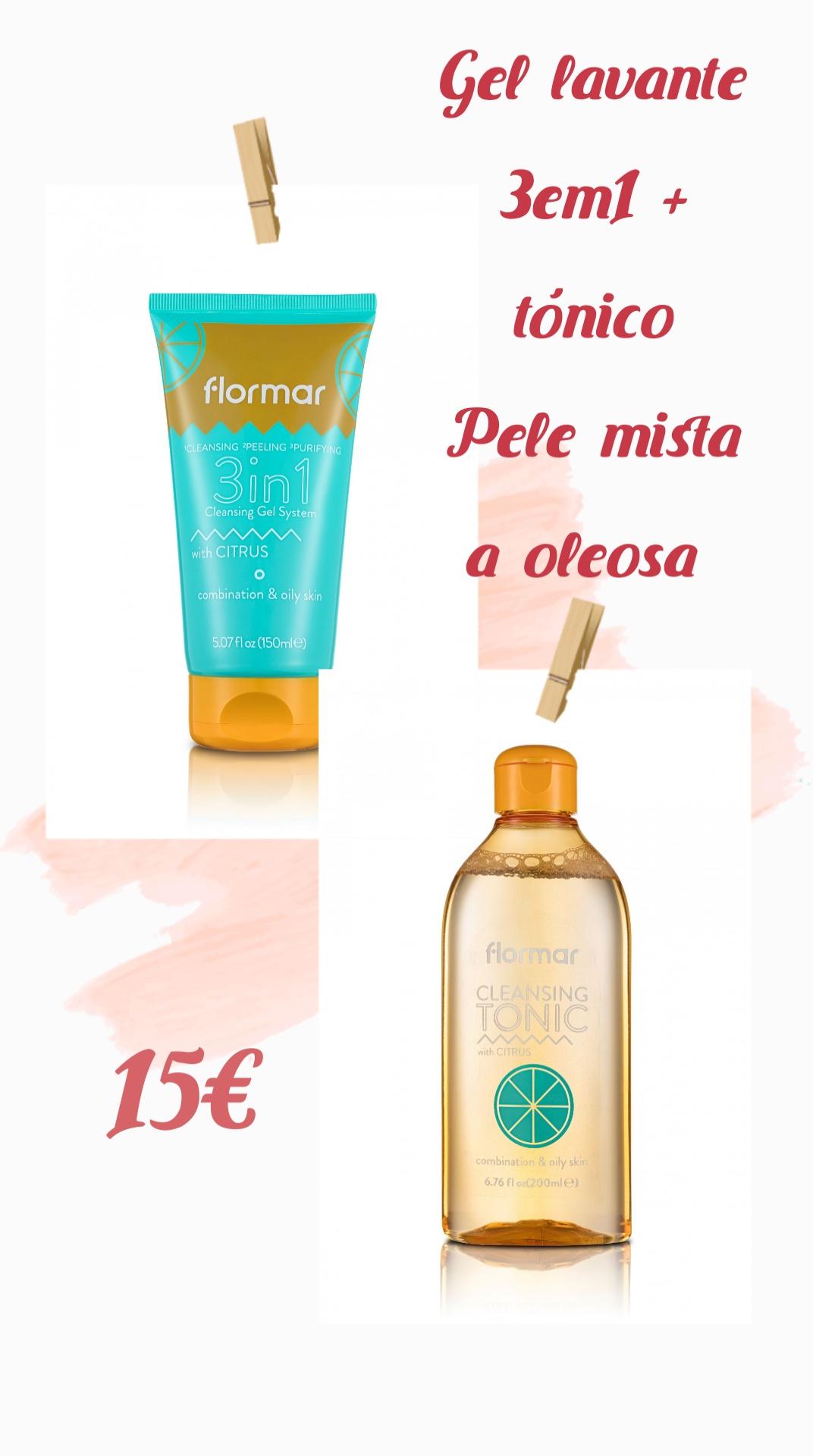 Flormar Kit Skin Care Pele mista a oleosa
