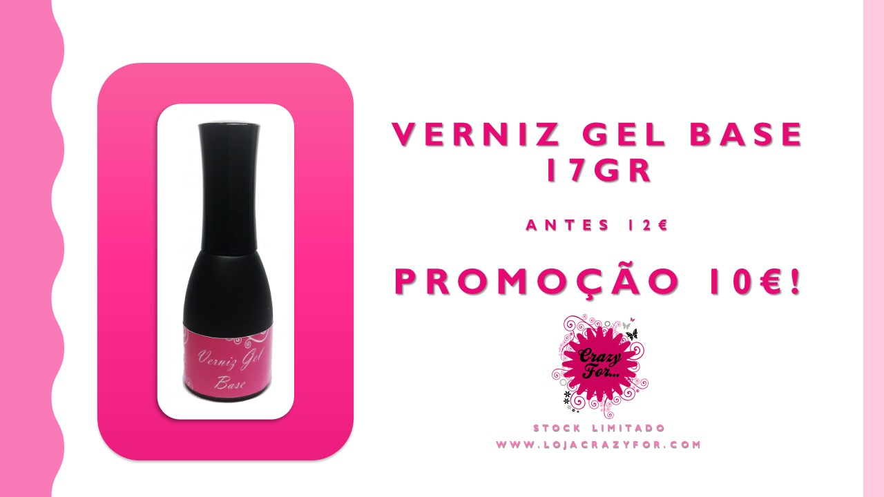 Verniz Gel Base 17gr