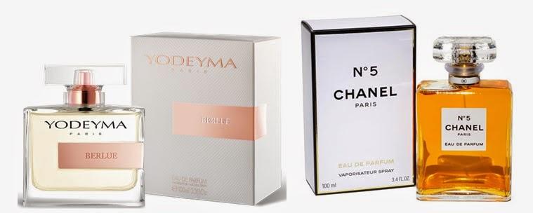 Perfume Berlue (equiv. N.º5 - Chanel)