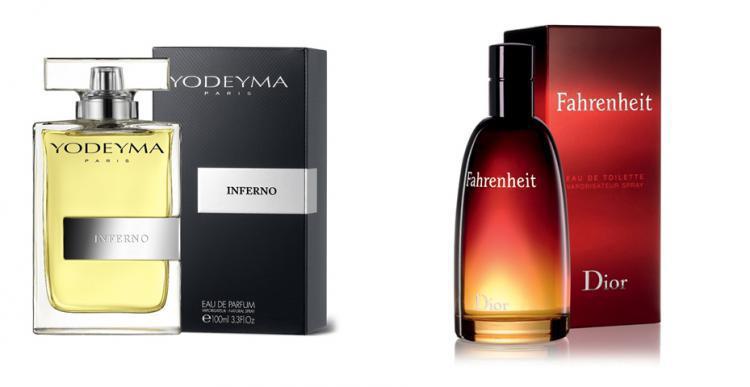 Perfume Inferno (equiv. Fahrenheit - Dior)