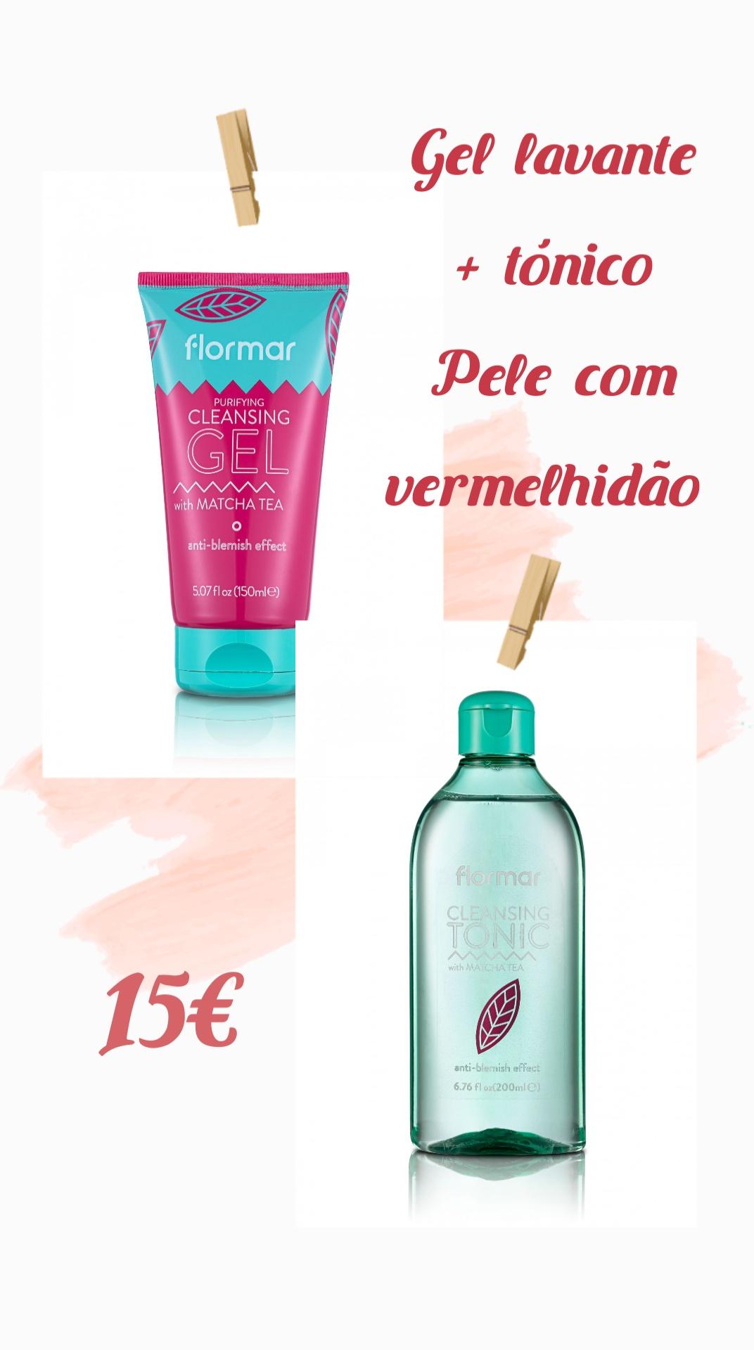 Flormar Kit Skin Care Pele com vermelhidão
