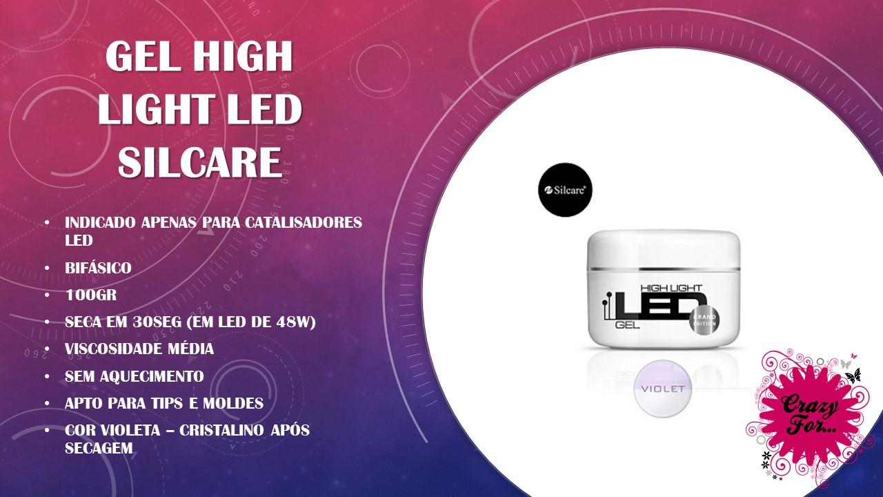 Gel High Light LED - Violet