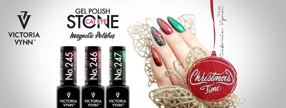 "Pack de Natal Victoria Vynn Polish Gel ""Stone Cat Eye"""
