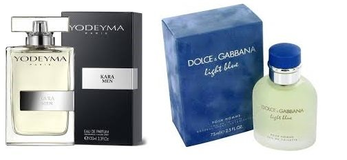 Perfume Kara Men (equiv. Light Blue - Dolce & Gabanna)