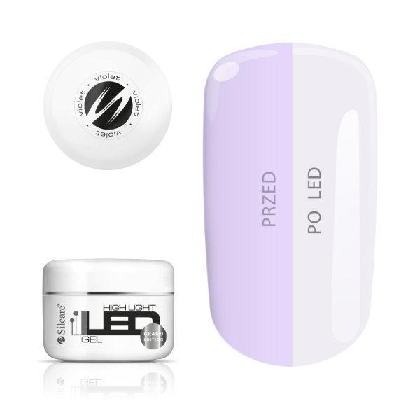 Gel High Light LED - Violet 100gr