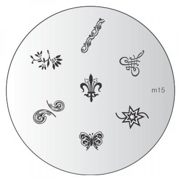 Placa Konad M015