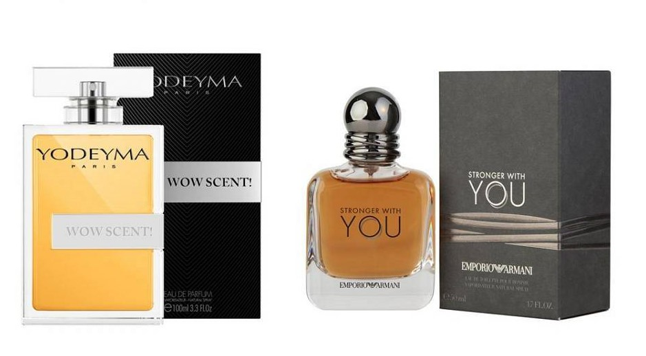 Perfume Wow Scent! (equiv. Stronger with you - Emporio Armani)