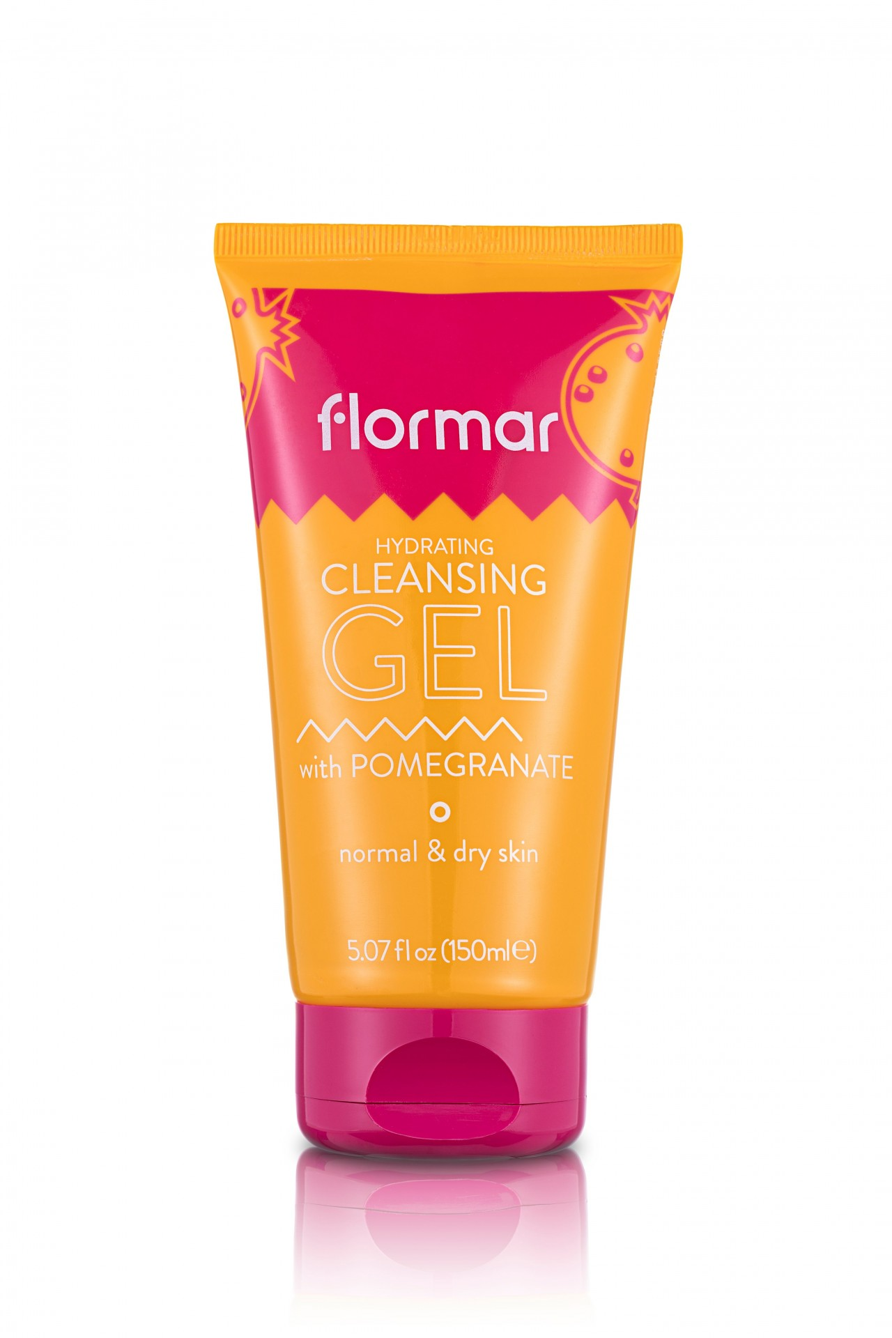 FLORMAR - 3 IN 1 CLEANSING GEL SYSTEM - POMEGRANATE