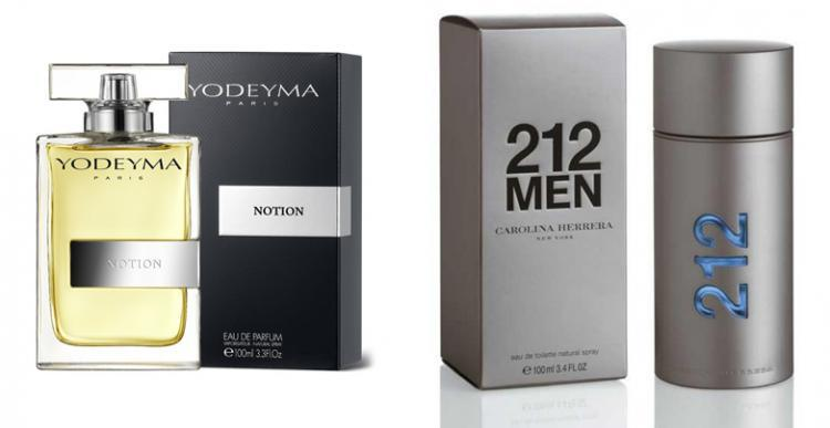 Perfume Notion (equiv. 212 Men - Carolina Herrera)