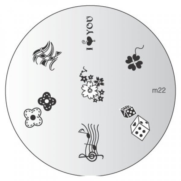 Placa Konad M022