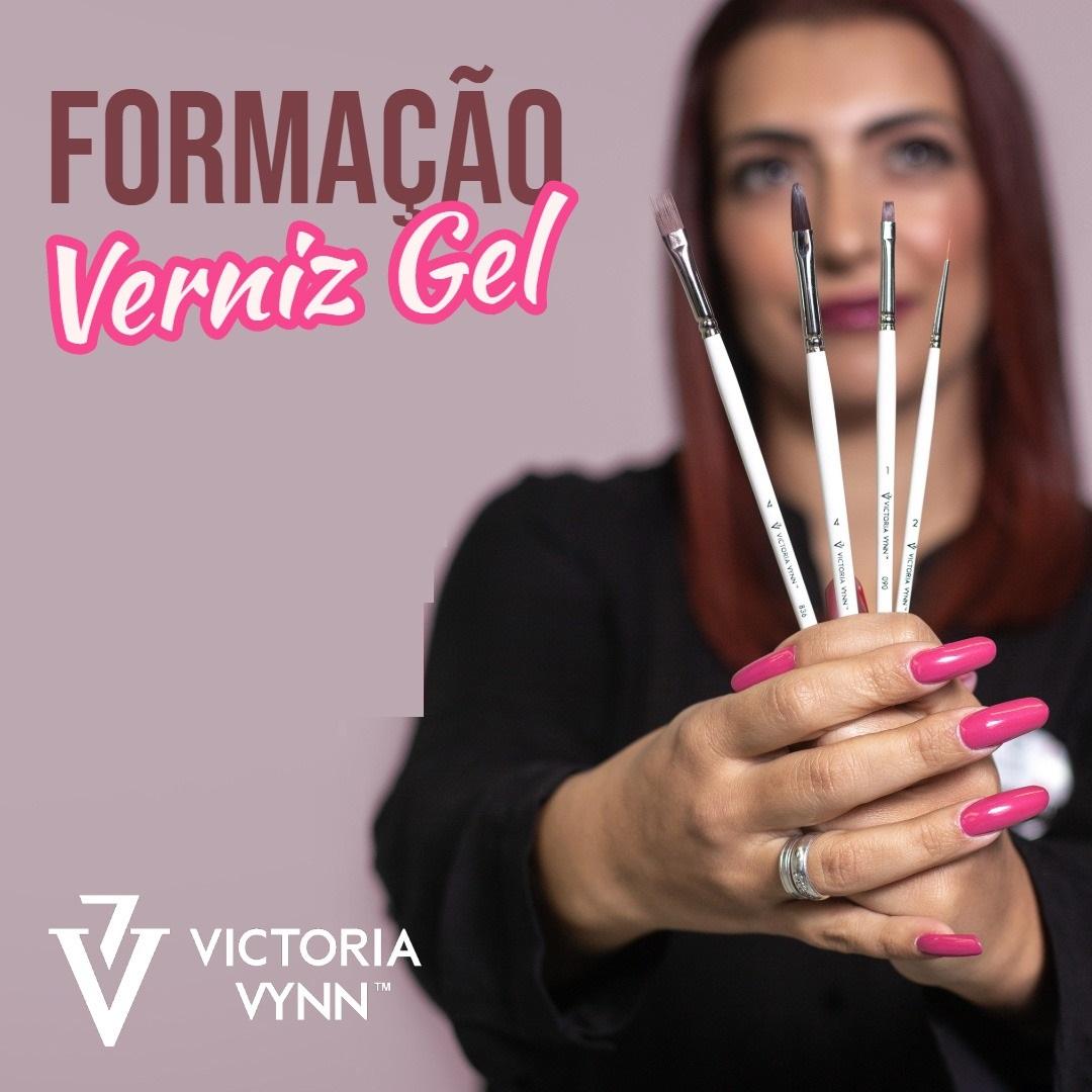 """Formação de VERNIZ GEL """"Combine Manicure + Hybrid System"""" Victoria Vynn"""