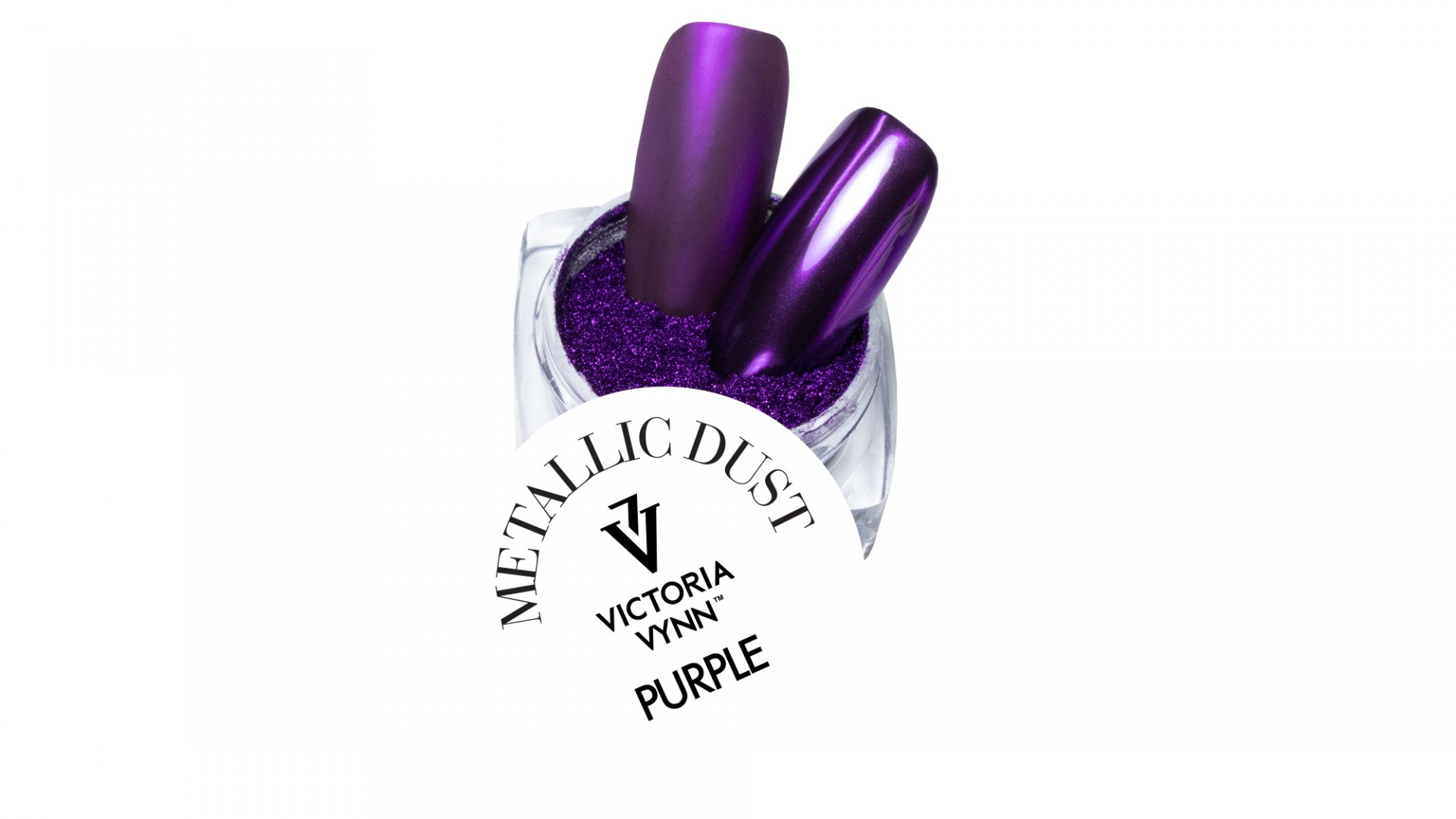Victoria Vynn Metallic Dusts n.º7 - Purple