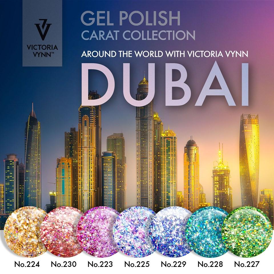 Pack Promocional Victoria Vynn DUBAI - Coleção Carat