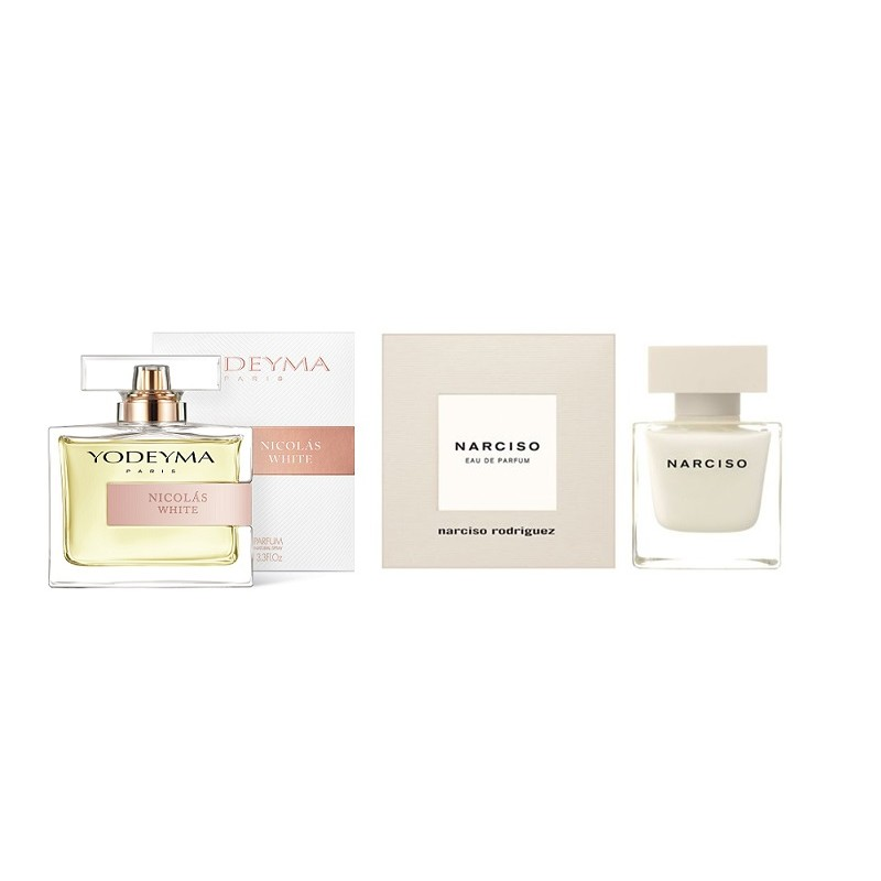 Perfume Nicolás White (equiv. NARCISO - Narciso Rodriguez)
