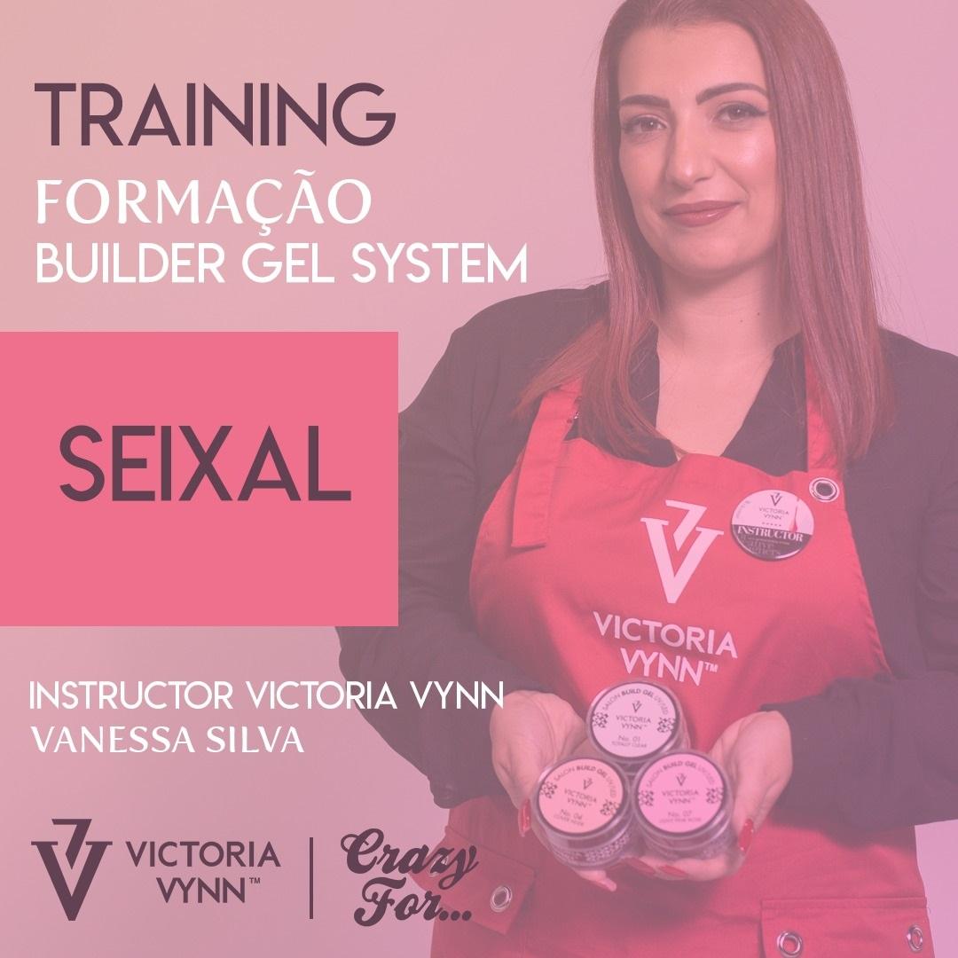 """Formação de UNHAS DE GEL """"Builder Gel System"""" Victoria Vynn"""