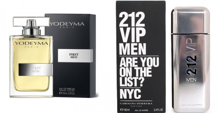 Perfume First Men (equiv. 212 VIP Men - Carolina Herrera)
