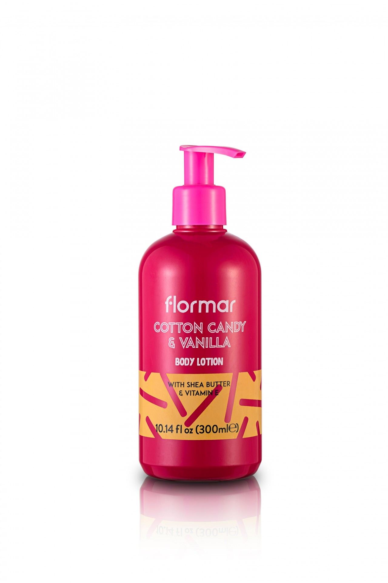 FLORMAR - BODY LOTION - COTTON CANDY & VANILLA