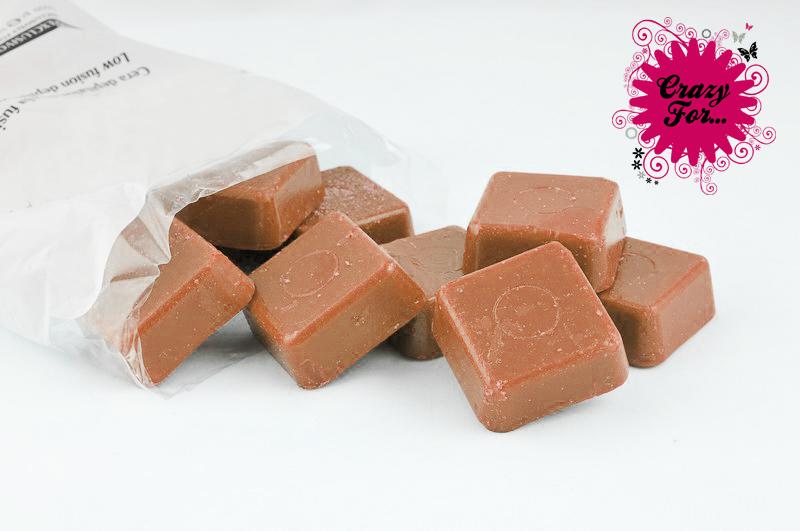 Saco de Cera Chocolate 1Kg