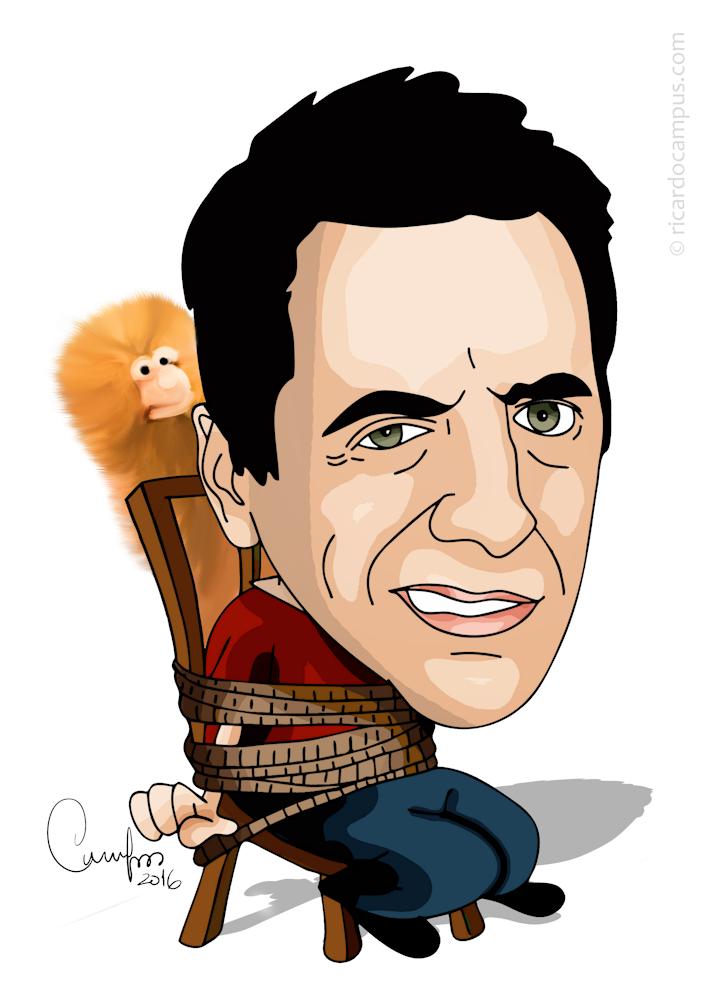 Caricatura de João Seabra