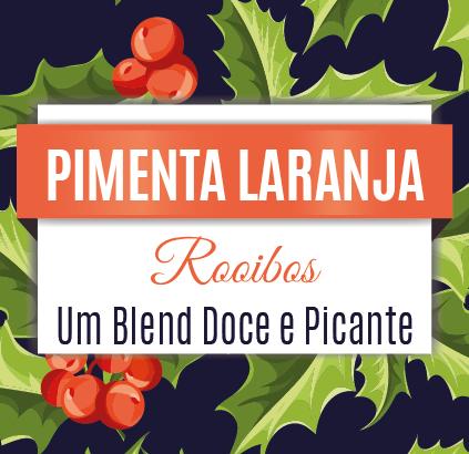 Rooibos Pimenta Laranja - Edição Natal