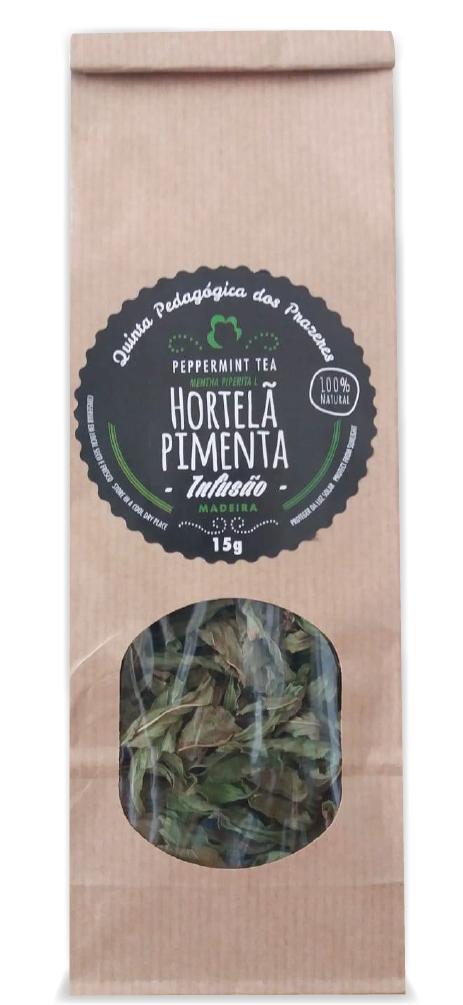 Infusão Hortelã Pimenta 100% Natural