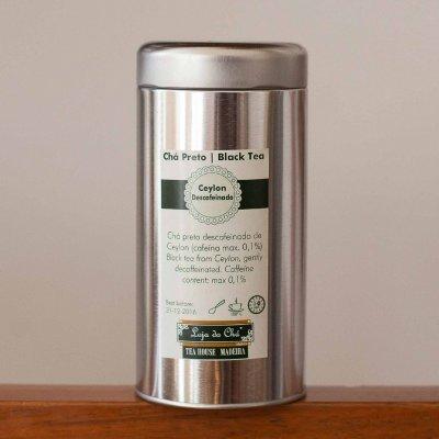 Chá Ceylon Descafeinado